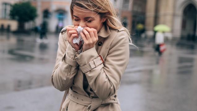 Taschentuch-Alarm bei frostigen Temperaturen
