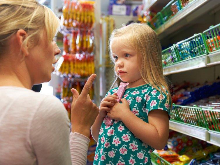 So gefährlich sind Süßigkeiten an der Supermarktkasse