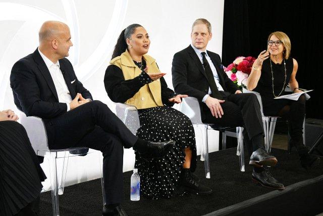 Ayesha Curry Schlagzeilen CVS-Panel auf Positive Schönheit Darstellung