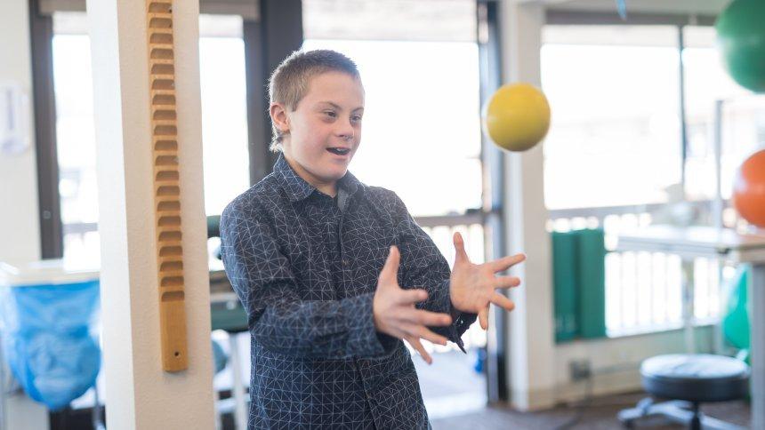 Wie sich Kinder mit Downsyndrom entwickeln