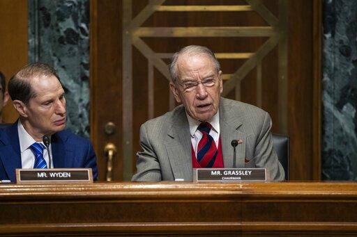 Insulin-Sonde auf dem deck, als der Kongress öffnet Medikament Preis-Anhörungen