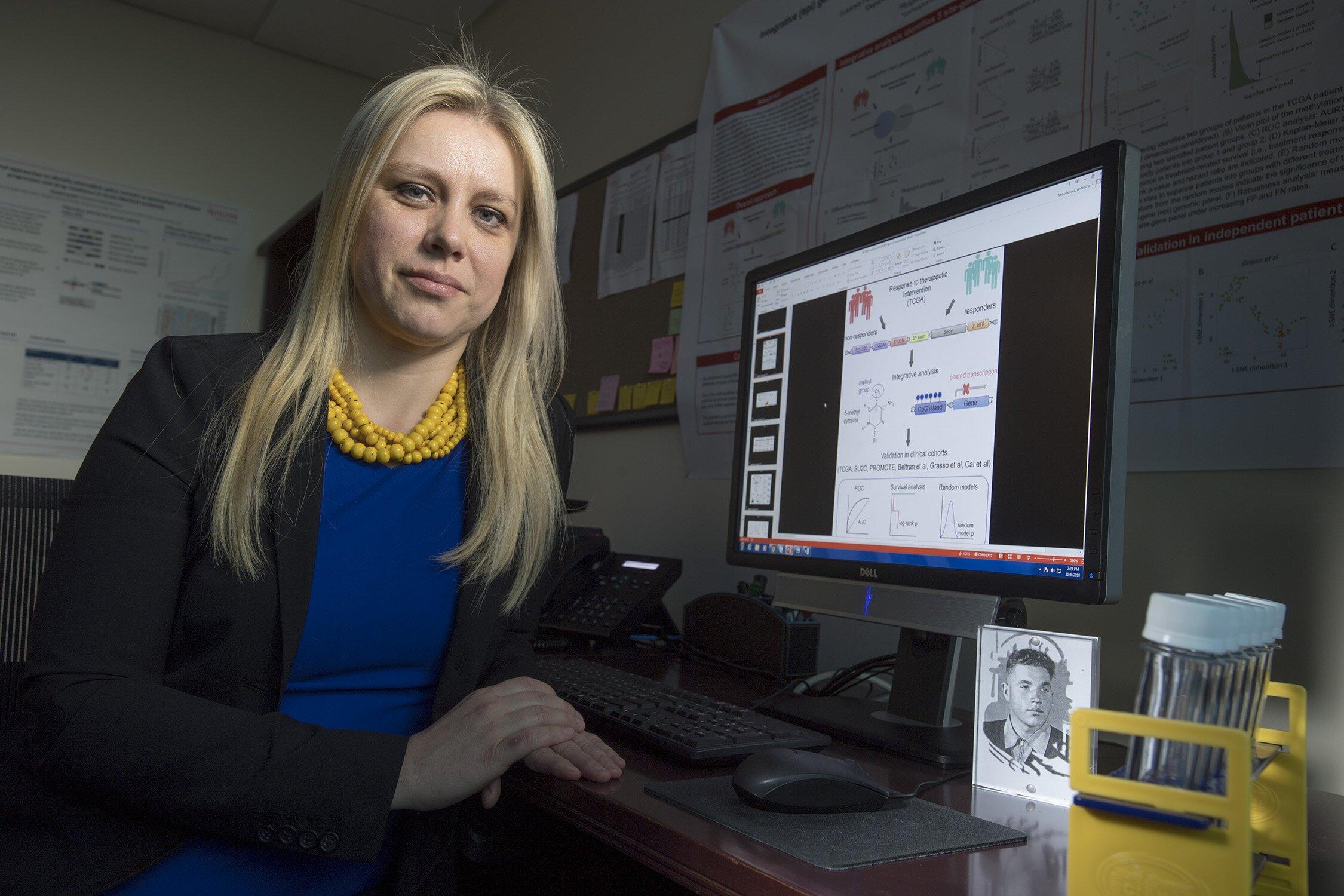 Wissenschaftler identifizieren gene, die für die Ausbreitung von Prostata-Krebs