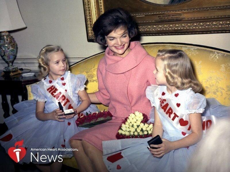 Kinder mit Herzfehlern trat Jackie Kennedy, LBJ zu sensibilisieren