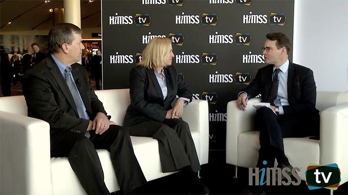 Update: HIMSS-TV HIMSS19 Bücher Harvards Stan Shaw und John Halamka