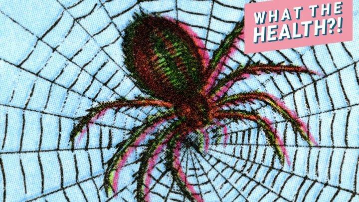 Eine Giftige Spinne Bissen Links Diese 9-Jährigen Jungen Mit einem Klaffenden Loch in Seinem Bein
