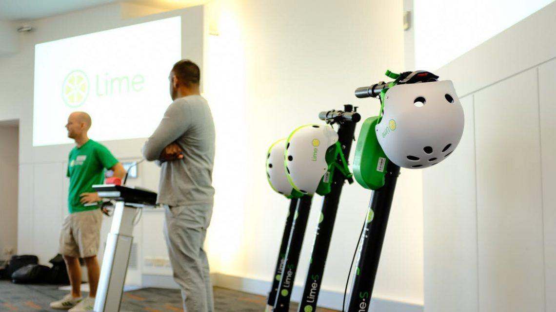 Helm Abwanderung fügt Herausforderungen der e-scooter-Störung