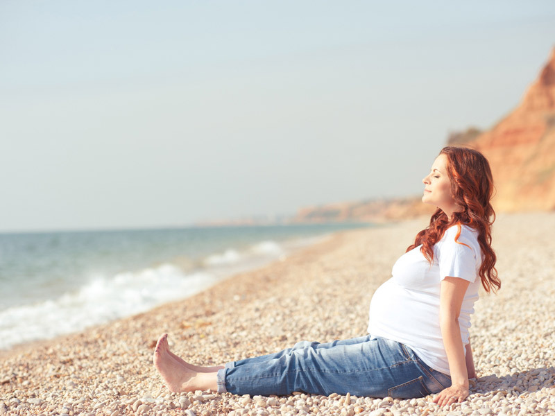 Tipps für Familien: Schwanger in den Urlaub