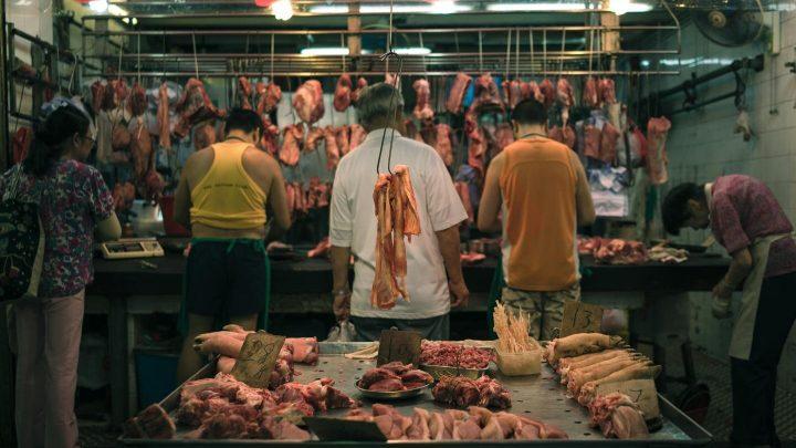 Bakterien im Zusammenhang mit der Krankenhaus-Infektionen sind in rohem Fleisch zu finden