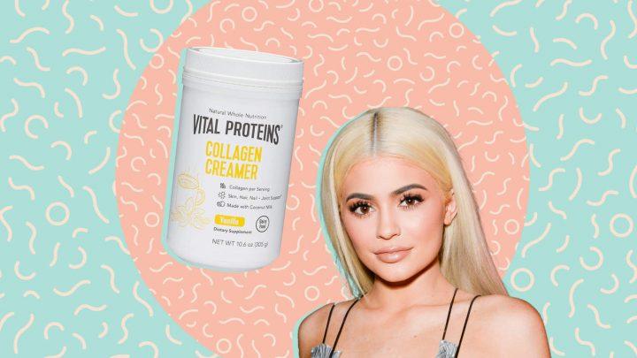 Dieses Kollagen Ist die Marke Kylie Jenners Geheimnis für strahlende Haut und Seine auf Verkauf Heute Nur