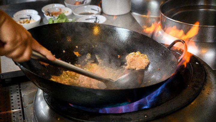 Fleischig Problem: Mock pork Kanten auf Südost-asiatischen Platten