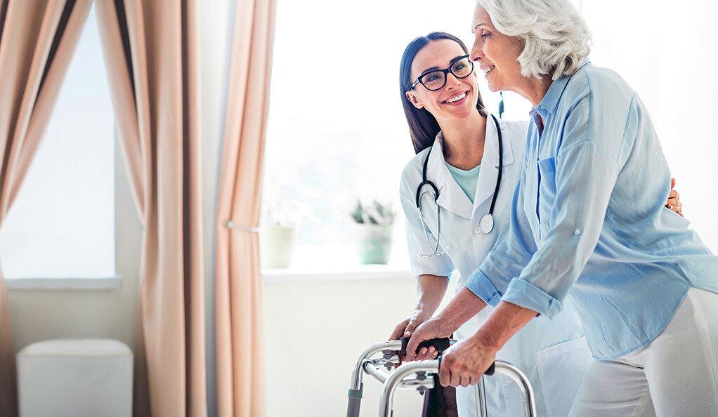 Einfacher test prognostiziert älteren Herzinfarkt-Patienten Unabhängigkeit, Funktion