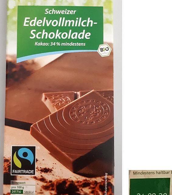 Rewe ruft bundesweit Schokolade zurück – Gesundheitsgefahr für Allergiker
