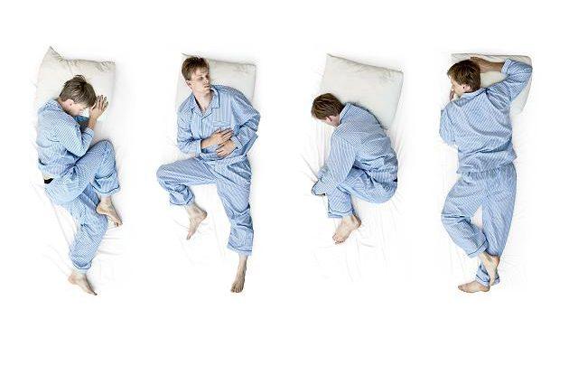 Können falsche Schlafpositionen für schlechten Schlaf sorgen?