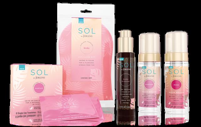 Jergens Folgt Natürlichen Glow Mit Self-Tan Marke Sol
