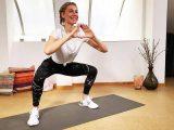 Ideal für zu Hause: 7 Minuten Leg Burn Workout für definierte Beine