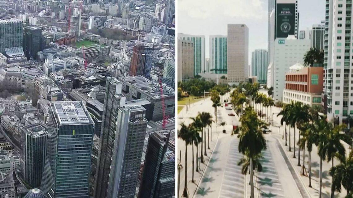 Wenn die Welt stehen bleibt: Coronavirus transformiert Metropolen zu Geisterstädten