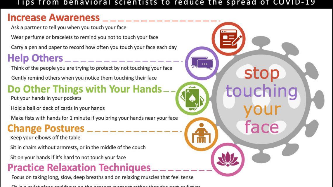 Psychologen öffentlichkeit: Hier ist, wie zu stoppen berühren Ihre Gesichter