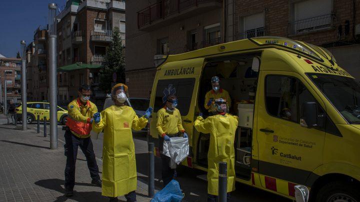 Schwache Schimmer der Hoffnung, das virus Todesfälle langsam in Orte