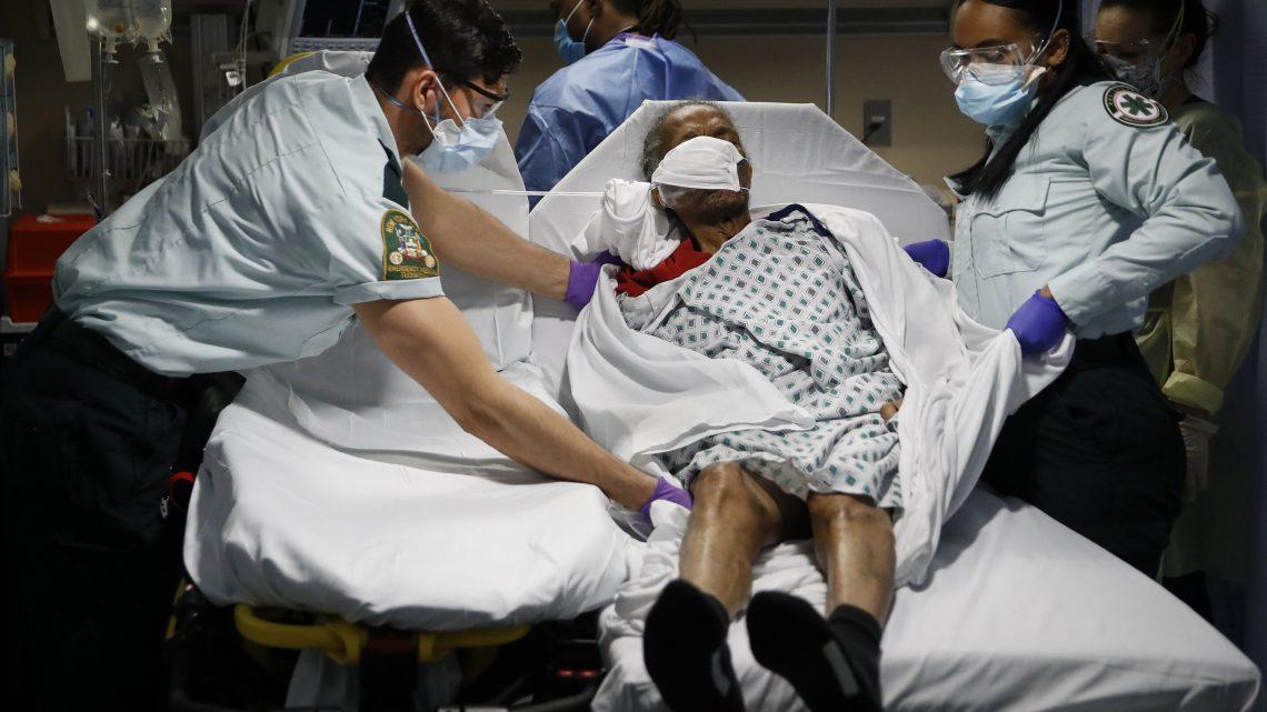 Pflegeheime stellen Sie mehr als 1 in 4 COVID-19 Todesfälle