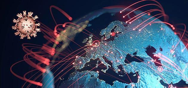 Forscher identifizieren Viruslinien – und zeigen, wie Corona nach Europa kam