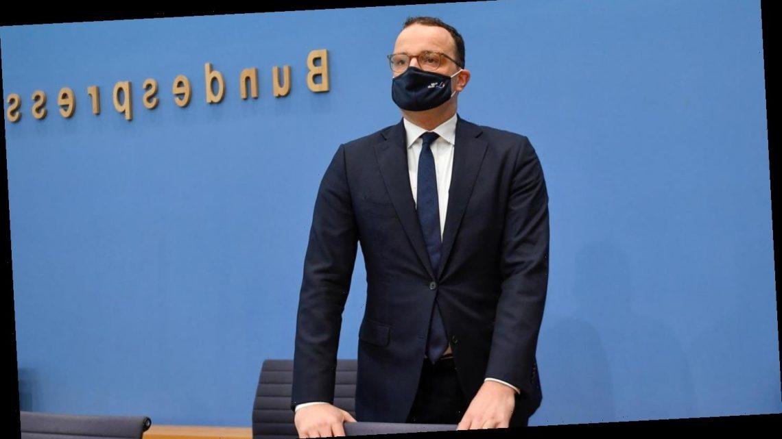 Gesundheitsminister Spahn rechnet mit Impfbeginn im ersten Quartal 2021