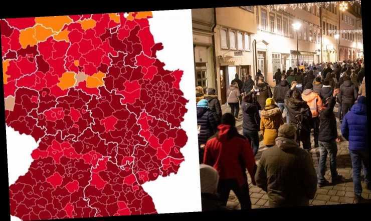 """304.000 aktive Corona-Infektionen – 65 Regionen in Deutschland sind """"Super-Hotspots"""""""