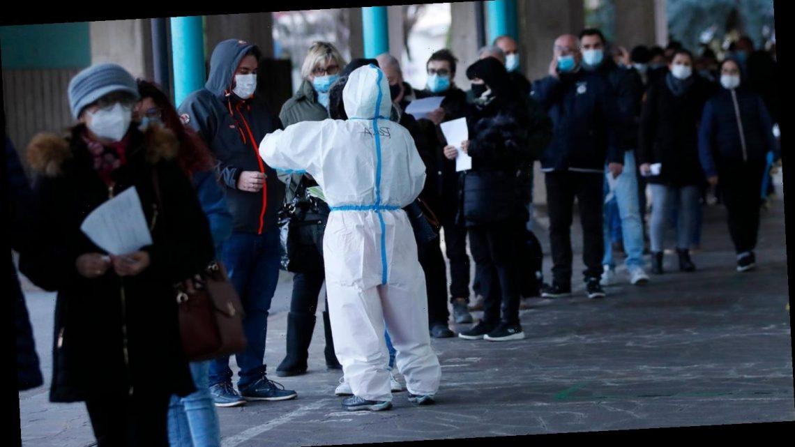 Corona-Massentest in Südtirol: Einige tausend Infizierte gefunden